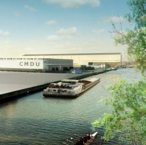Crédit POrt de Lille Le projet CMDU