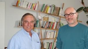 Allain Bougrain-Dubourg et Emmanuel Druon