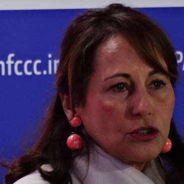 Segolène Royal à la COP21