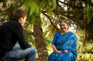 Rencontre du Dr Vandana Shiva, écologiste indienne