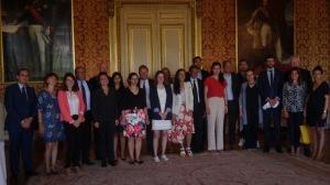 La délégation française du G20 des Jeunes Entrepreneurs