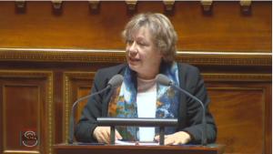 Marie-Christine Blandin au Sénat