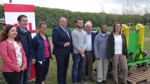 Les porteurs de projets agricoles bio