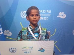 Plaidoyer des Iles Fidji pour rester ambitieux pour les générations futures (plénière du 15/12)