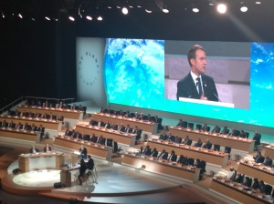 Plénière du One Planet Summit