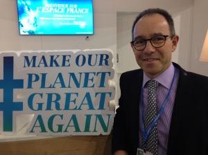 Jean-Baptiste Dollé, l'année dernière à la COP23 à Bonn