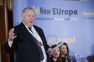 Karl-Heinz Lambertz, président du Comité des Régions. © European Union / Patrick Mascar