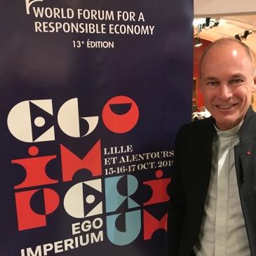 Bertrand Piccard au World Forum 2019